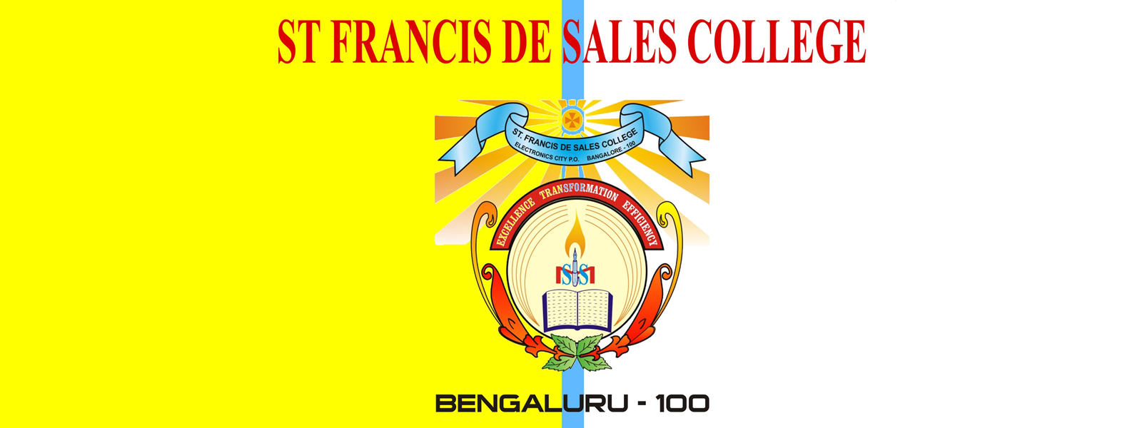 College Flag was Designed by Frs. Herold Christopher & Jijo Manjackal